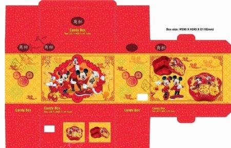 喜庆果盘包装设计图片