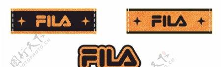 FILA辅料商标图片