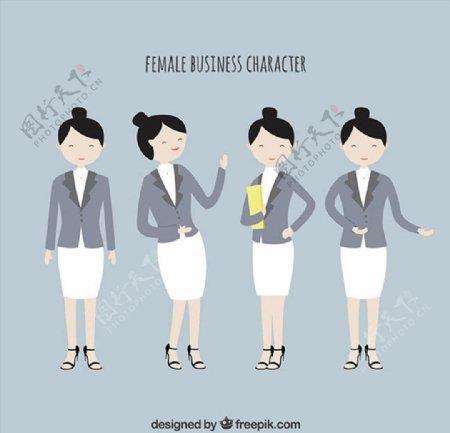 女性商务人物图片