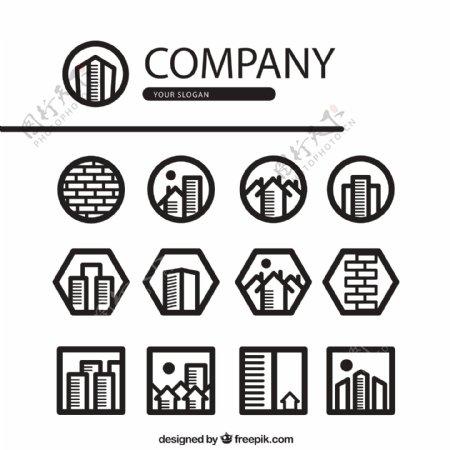 房地产公司图标图片