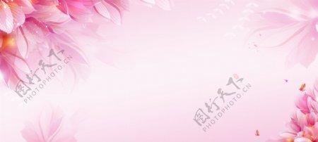 情人节粉色背景图片