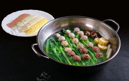 冷拼特色菜绿生青菜园子图片