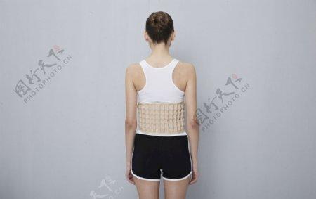唐德康腰间盘劳损腰椎间盘护腰带图片