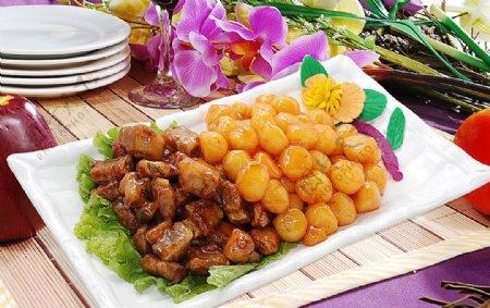 东北菜日本土豆可乐骨图片