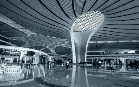 大兴机场图片