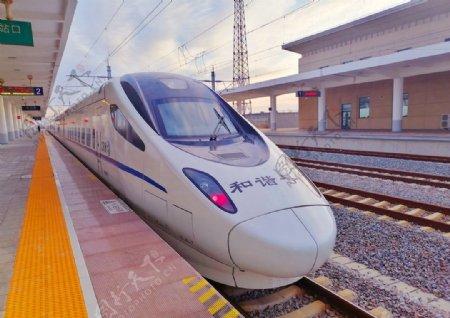 高铁CRH5型动车组图片