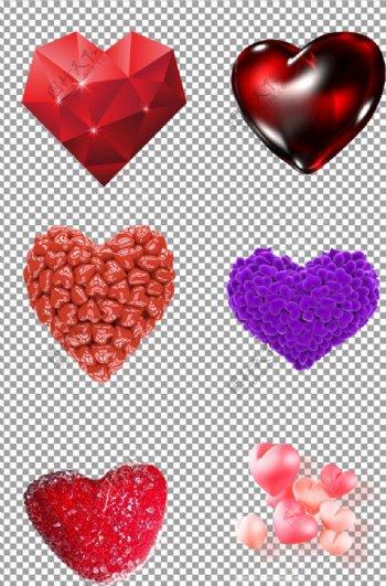 浪漫红色爱心图片