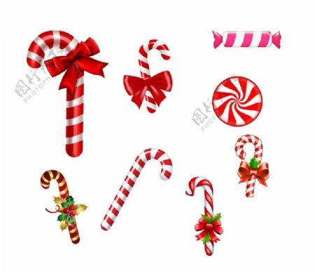圣诞节糖果素材图片