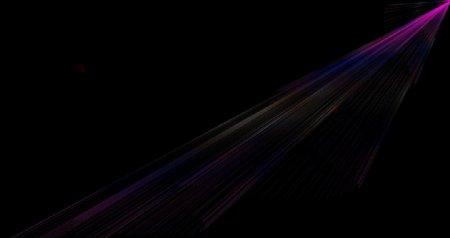蓝色渐变线条黑色背景素材图片