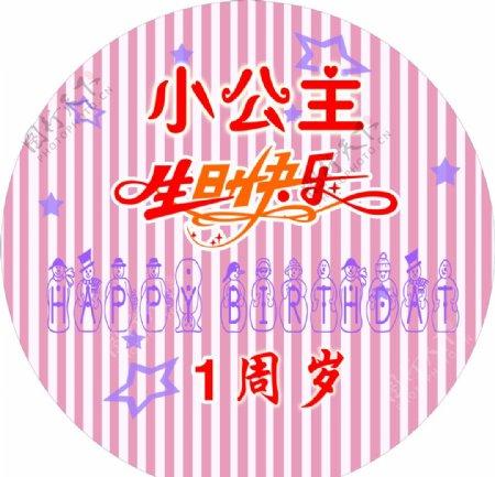 生日快乐造型图片