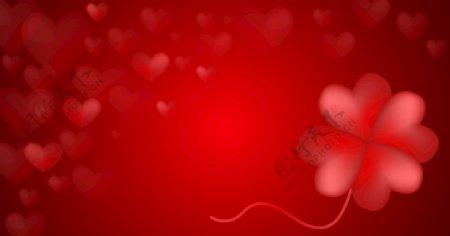 爱心红色背景图片