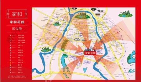 地产区位图图片