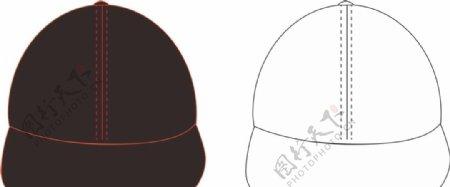 帽子图稿模型矢量图片