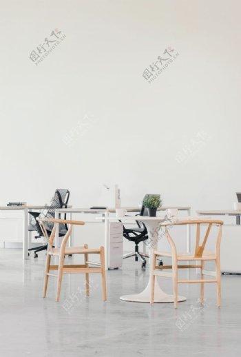 极简风格办公空间图片