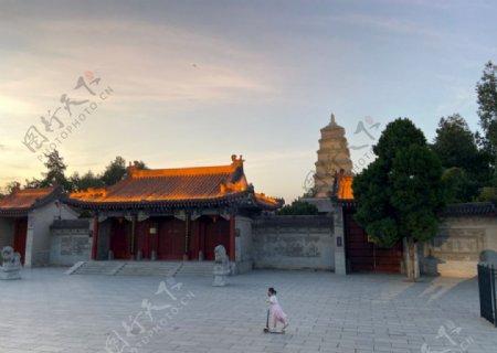 大雁塔南广场图片