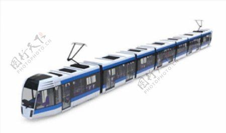 C4D模型高铁动车火车图片