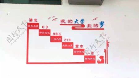 高考奋斗之路图片