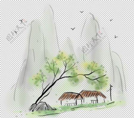 中国风插图图片