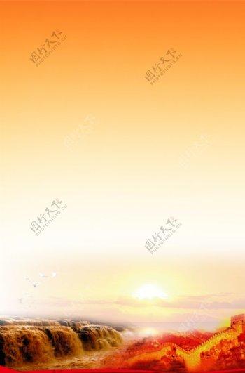 黄河长城图片