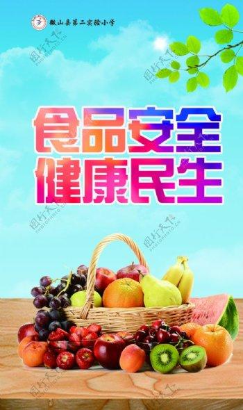 食品安全宣传展板图片