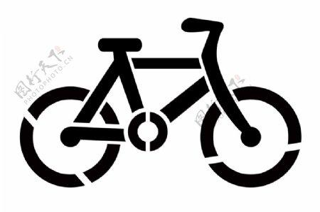自行车喷漆模板图片