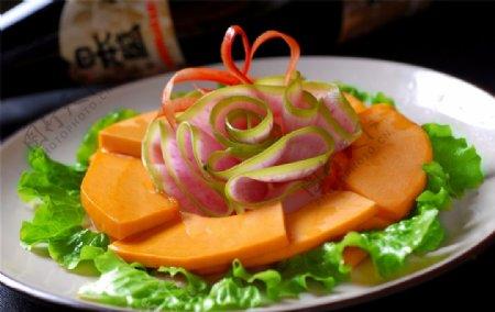 素菜类南瓜片图片