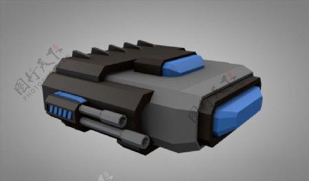 C4D模型火箭飞船飞行棋太空图片