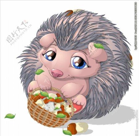 卡通可爱动物图片