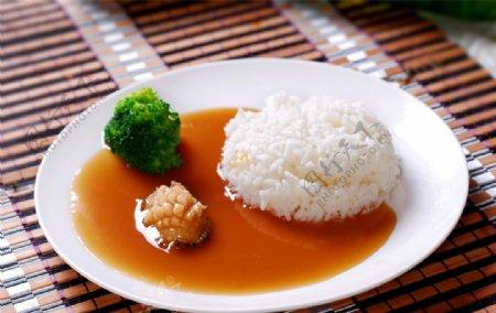 粤鲍鱼仔捞饭图片