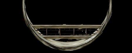 窗户免扣PNG素材建筑古风手绘图片
