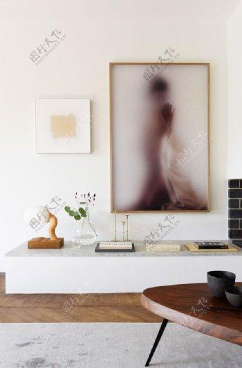 客厅一角图片
