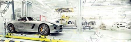 奔驰AMG厂房图片