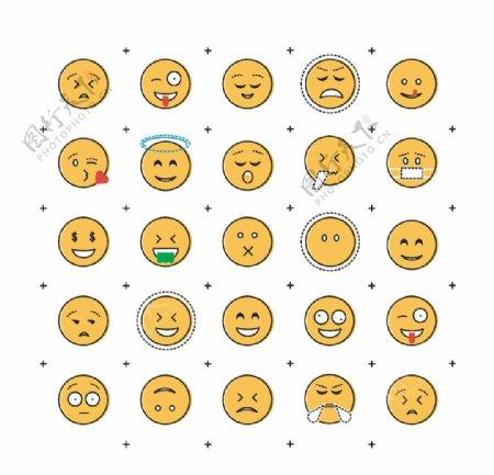 线性表情包图片