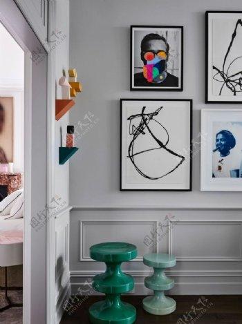 住宅内部陈设装饰图图片