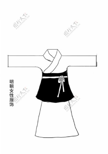 明朝女性服装图片