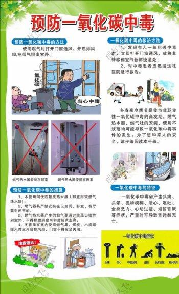 预防一氧化碳图片
