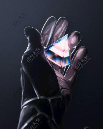 炫彩钻石图片