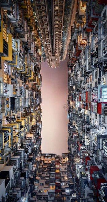 高楼耸立摄影图片