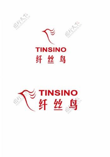 纤丝鸟logo标志图片
