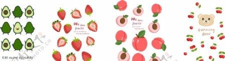 卡通水果图图片