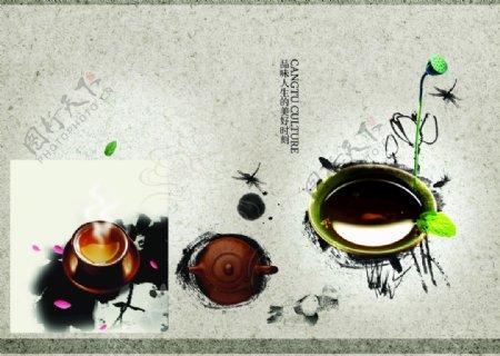 茶文化茶叶茶叶素材茶资料图片