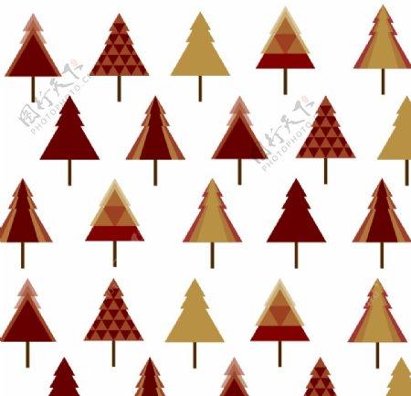 松树圣诞树三角形图片