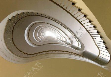 白色螺旋楼梯楼梯柏林图片