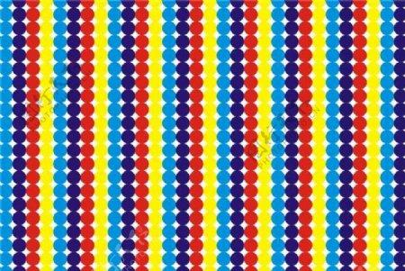 彩色圆圈纹理底图素材图片