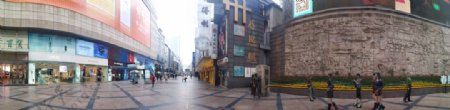 疫情下的春熙路北广场图片