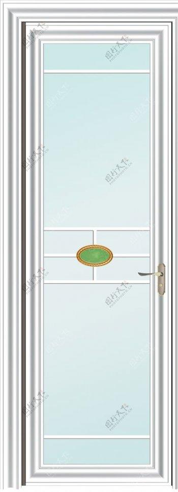 白色平厨房门阳台门玻璃门图片