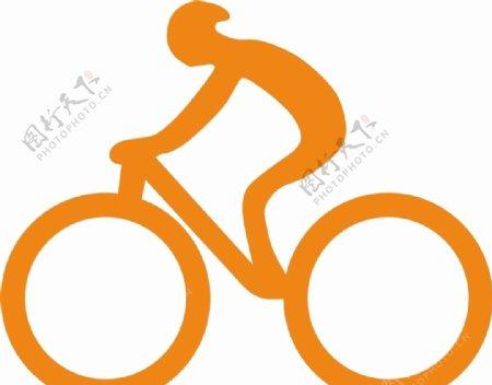矢量自行车图片