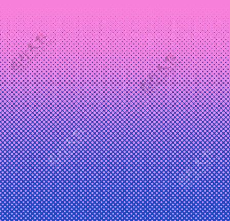 彩色半调波点背景图片
