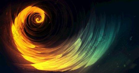 大气旋涡凝聚力年会背景图片