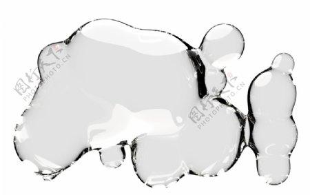 水滴水珠泡泡透明肥皂泡泡图片